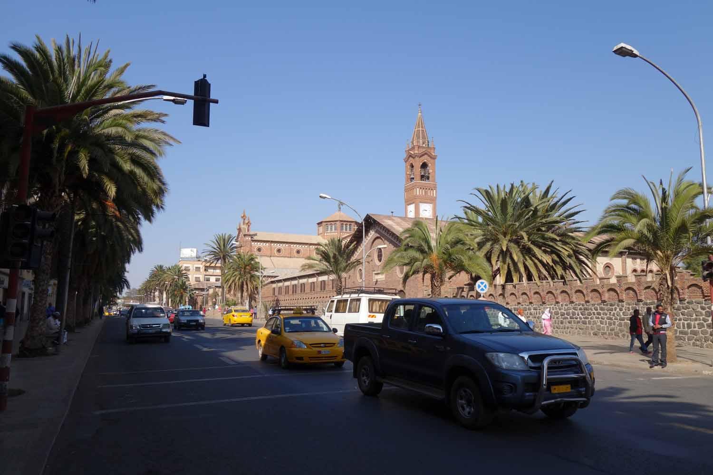 アスマラ市街