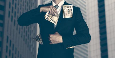 大企業, お金