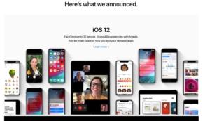 新たな「iOS12」をAppleが発表。WWDC 2018での基調講演まとめ