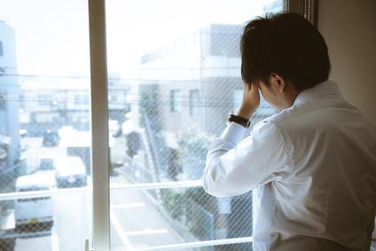 うつ病のビジネスマン