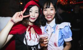 渋谷のハロウィン仮装美女に「お仕事は何?」と突撃質問。秘書に公務員…