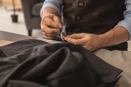 仮縫い ビジネスコーデ