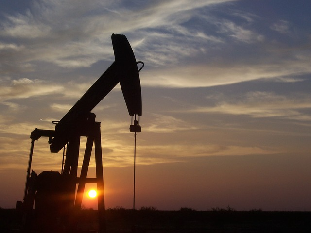石油採掘現場