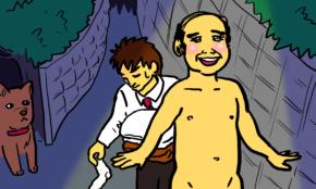 酒グセ最悪な上司との飲み会。外で全裸になっても許せるか?