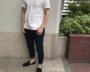ユニクロ、夏の着回しコーデ。白Tシャツ+デニムをどう使う?