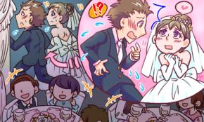 社内婚カップルの結婚式で、新婦が衝撃告白「ずっと好きだった人は…」