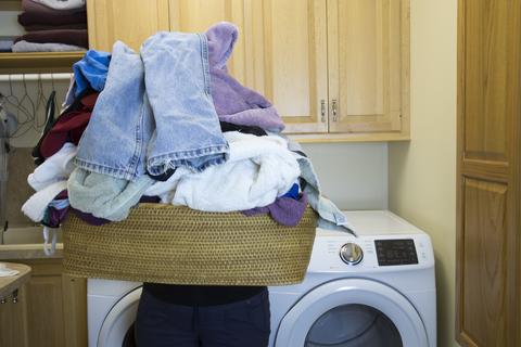 洗濯物 部屋