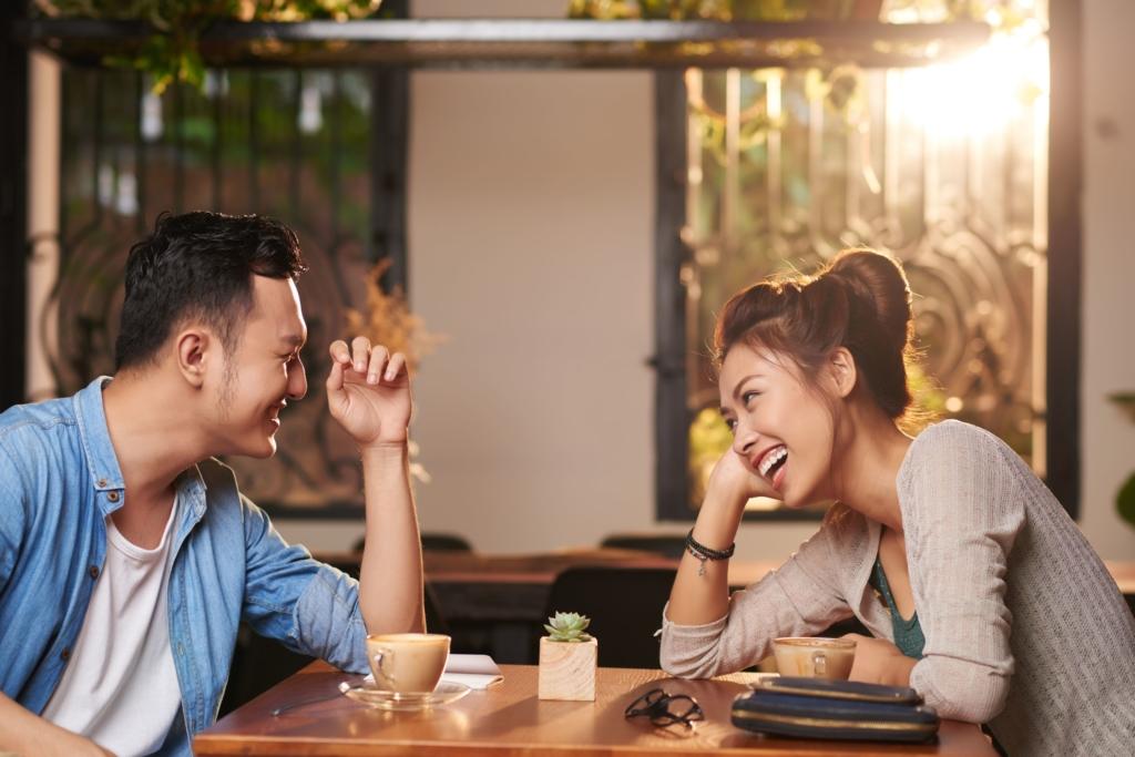 カフェ デート