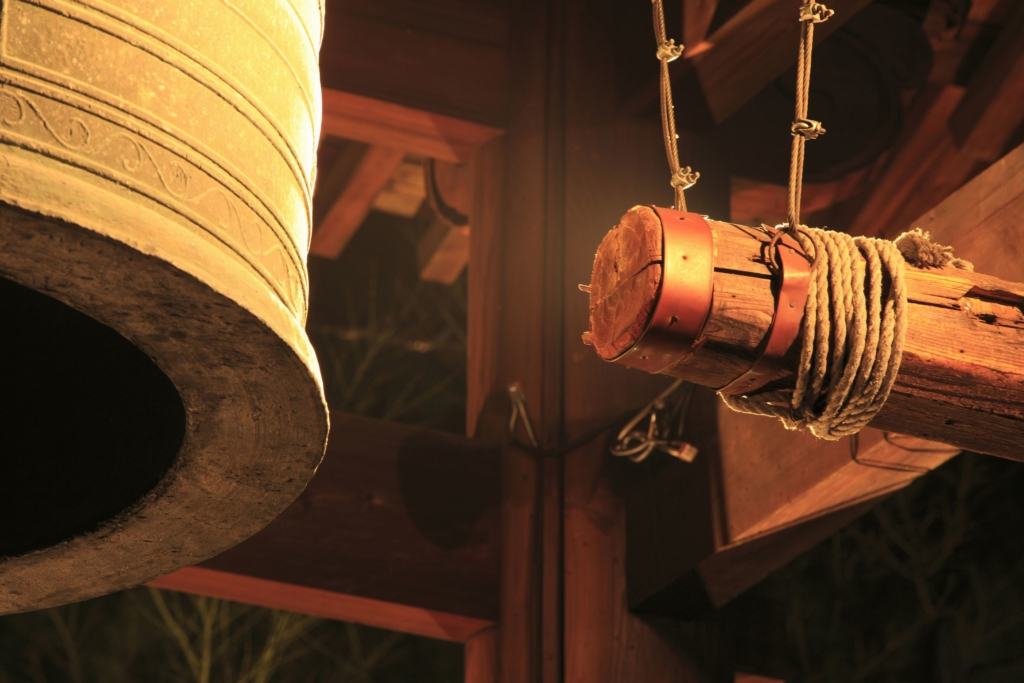 年末 除夜の鐘