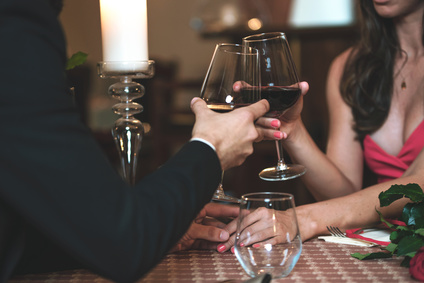 カップル ワイン