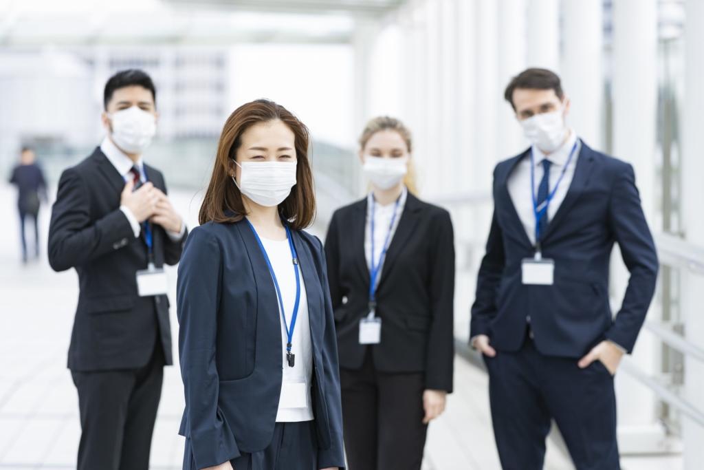 マスク 会社
