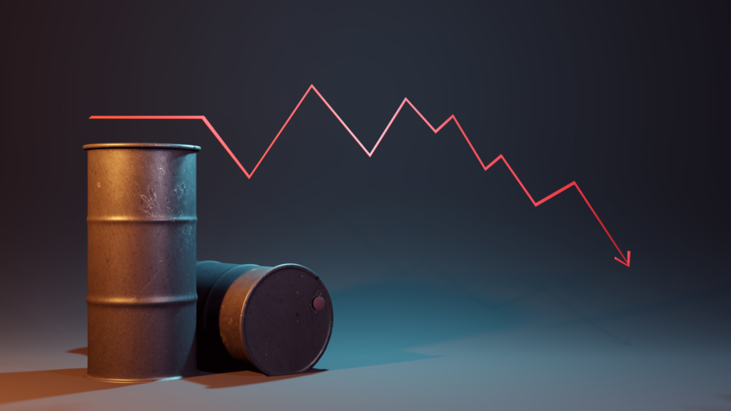 石油価格下落