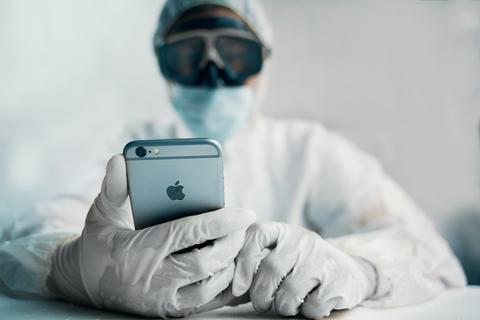 コロナ iphone