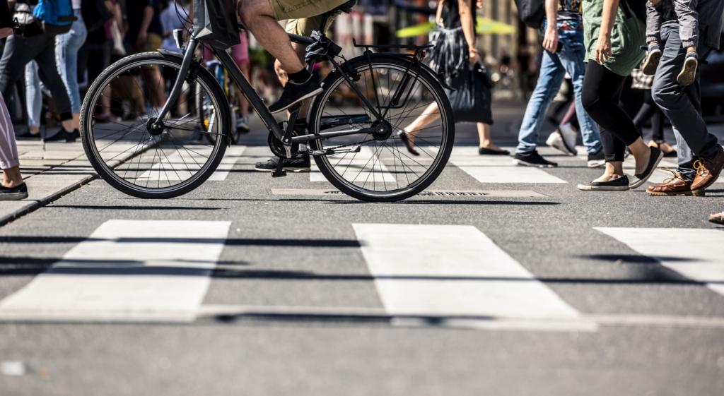 自転車 横断歩道