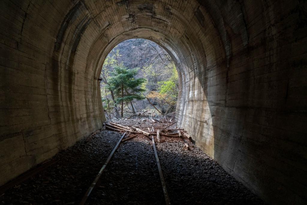 水根貨物線の隧道(東京都)