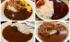 牛丼4大チェーンのカレーを食べ比べ。吉野家、すき家…1番本格的なのは