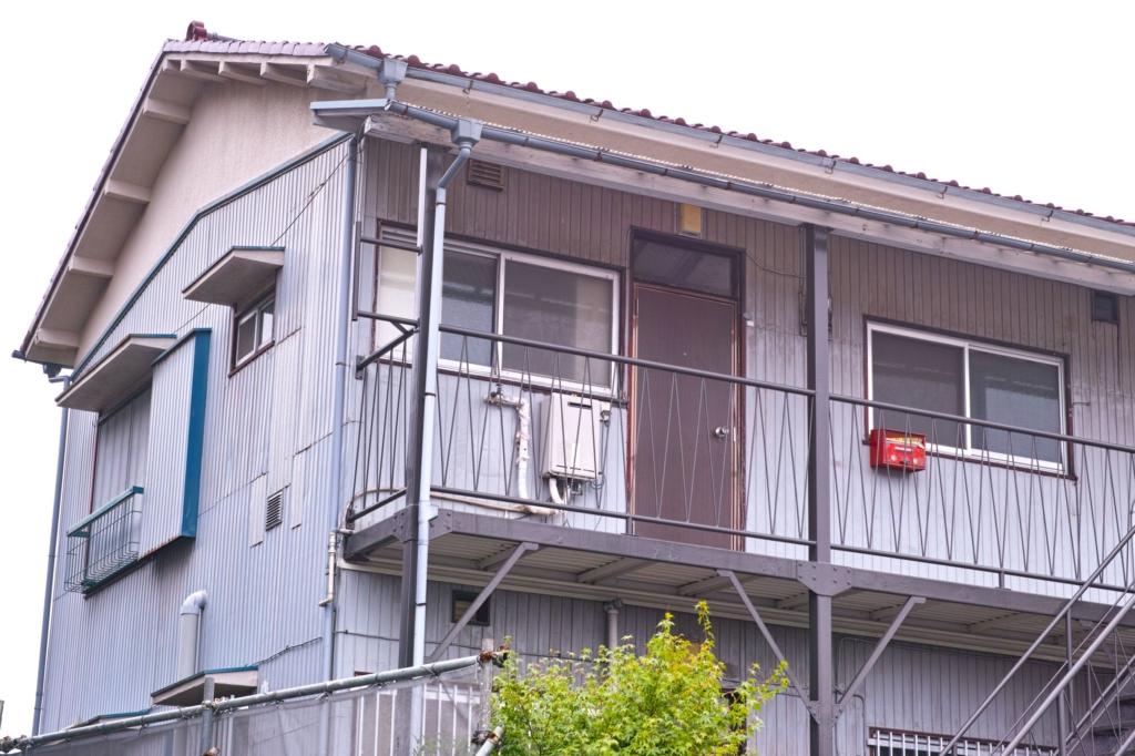 古いアパート