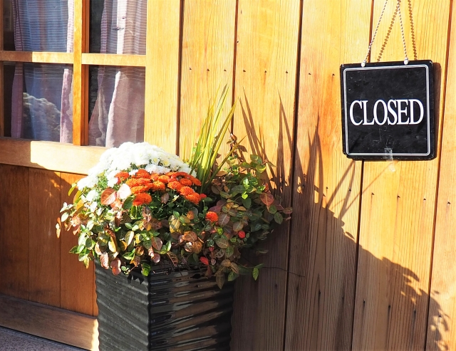 レストラン 閉店