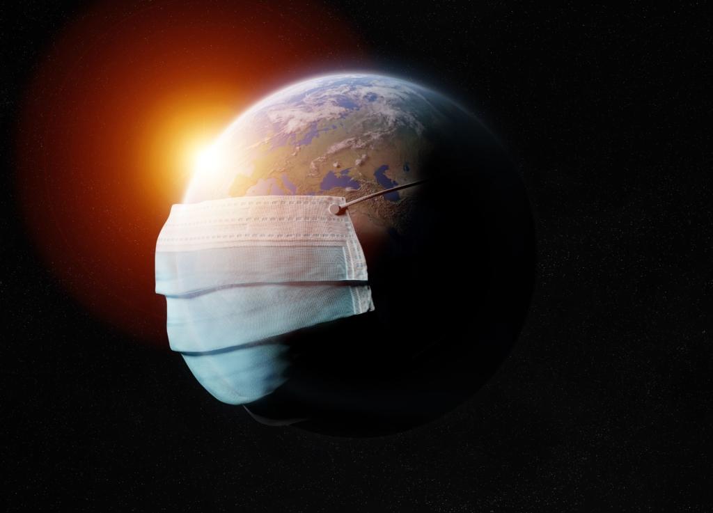 地球 コロナ