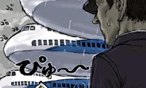 """年収3000万円から失業危機に。コロナ打撃「パイロット・CA」の""""懐事情"""""""