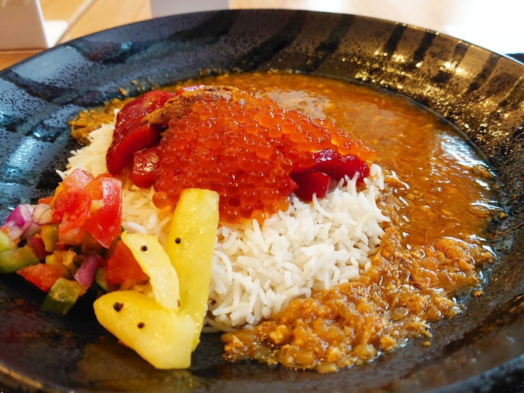 海鮮丼カレー