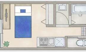 一人暮らし6畳ワンルームの「最低レイアウト」を、より広く変えるコツ