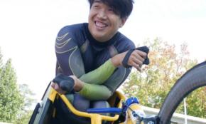 車椅子レースで五輪代表へ。佐藤友祈が伝えたい「チャレンジする大切さ」