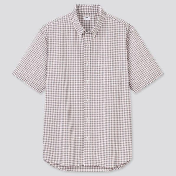 エクストラファインコットンブロード チェックシャツ